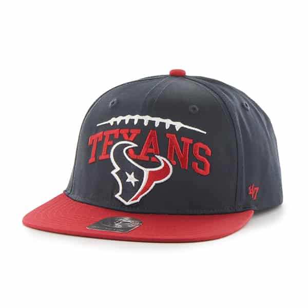 Houston Texans Laces Out Captain Navy 47 Brand KID Hat