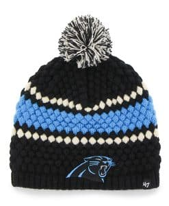 Carolina Panthers Leslie Beanie Black 47 Brand Womens Hat