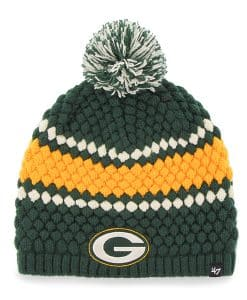Green Bay Packers Women's 47 Brand Dark Green Leslie Beanie Hat