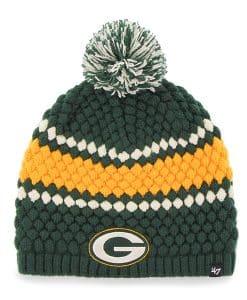Green Bay Packers Women's 47 Brand Dark Green Leslie Beanie Hat