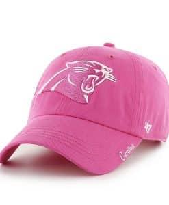 Carolina Panthers Women's 47 Brand Pink Clean Up Hat