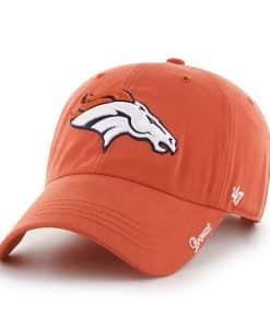 Denver Broncos Miata Clean Up Orange 47 Brand Womens Hat