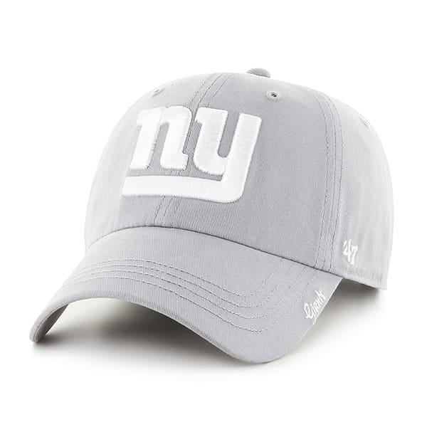 New York Giants Women's 47 Brand Miata Gray Clean Up Hat
