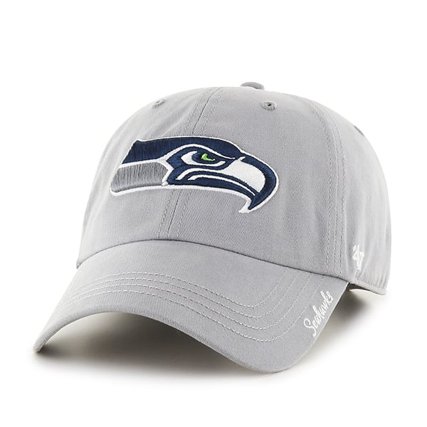 Seattle Seahawks Miata Clean Up Gray 47 Brand Womens Hat