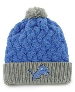 Detroit Lions Matterhorn Knit Blue Raz 47 Brand Womens Hat