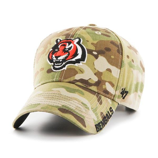 Cincinnati Bengals Myers MVP Multicam 47 Brand Adjustable Hat