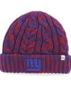 New York Giants Prima Cuff Knit Red 47 Brand Womens Hat