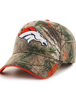 Denver Broncos Realtree Frost Realtree 47 Brand Adjustable Hat