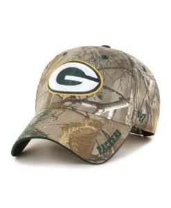 Green Bay Packers 47 Brand Realtree Camo Frost MVP Adjustable Hat