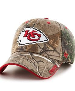 Kansas City Chiefs 47 Brand Realtree Camo Frost MVP Adjustable Hat