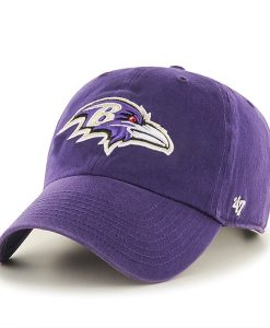 Baltimore Ravens Clean Up Purple 47 Brand Adjustable Hat