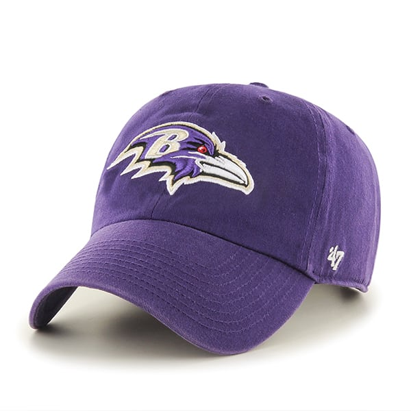 Baltimore Ravens Clean Up Purple 47 Brand Adjustable Hat