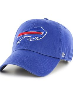 Buffalo Bills Clean Up Royal 47 Brand Adjustable Hat