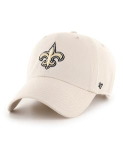 New Orleans Saints 47 Brand Bone Clean Up Adjustable Hat