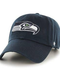 Seattle Seahawks Clean Up Navy 47 Brand Adjustable Hat