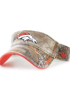 Denver Broncos Realtree Ice Visor Realtree 47 Brand Adjustable Hat