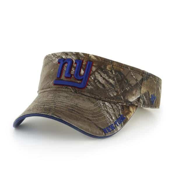 New York Giants 47 Brand Realtree Ice Visor Adjustable Hat