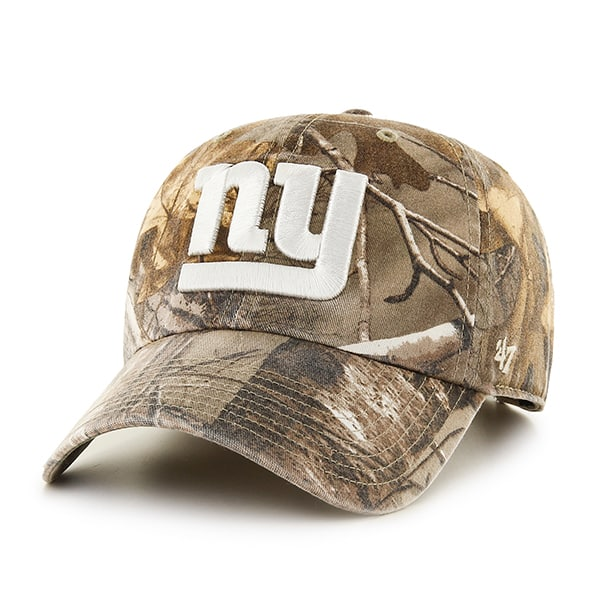 New York Giants Realtree Clean Up Realtree 47 Brand Adjustable Hat