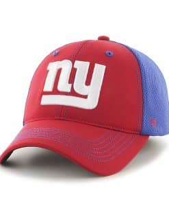 New York Giants Reversal Team Color Closer Red 47 Brand Stretch Fit Hat