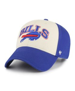 Buffalo Bills 47 Brand Saga Blue MVP Adjustable Hat