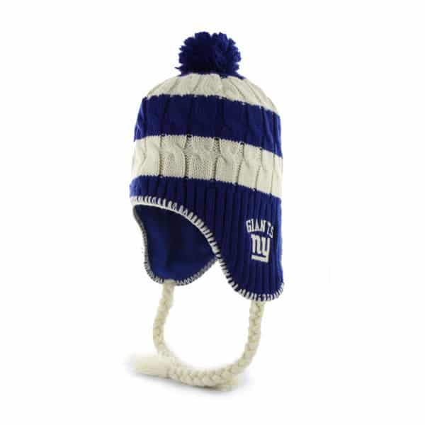 New York Giants Women's 47 Brand Royal Sherpette Knit Hat