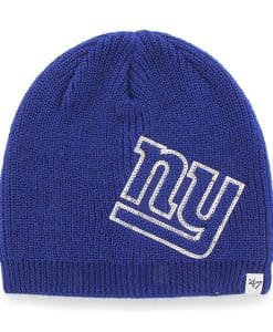 New York Giants Sparkle Beanie Royal 47 Brand Womens Hat
