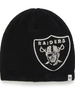 Oakland Raiders Sparkle Beanie Black 47 Brand Womens Hat