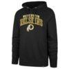 Washington Redskins Men's 47 Brand Black Headline Pullover Hoodie