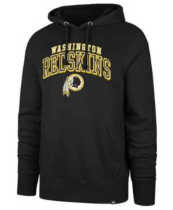 Washington Redskins Men's 47 Brand Black Headline Pullover Hoodie