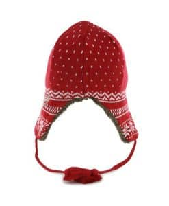 Detroit Red Wings Fair Isle Sherpa Red 47 Brand Womens Hat