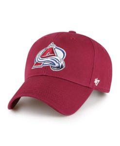 Colorado Avalanche 47 Brand Legend Cardinal MVP Adjustable Hat