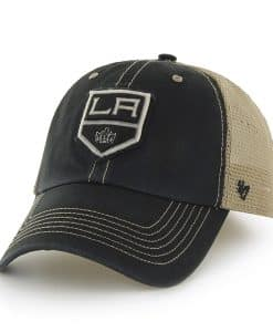 Los Angeles Kings Montana Black 47 Brand Adjustable Hat