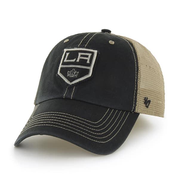 Los Angeles Kings Montana Black 47 Brand Adjustable Hat