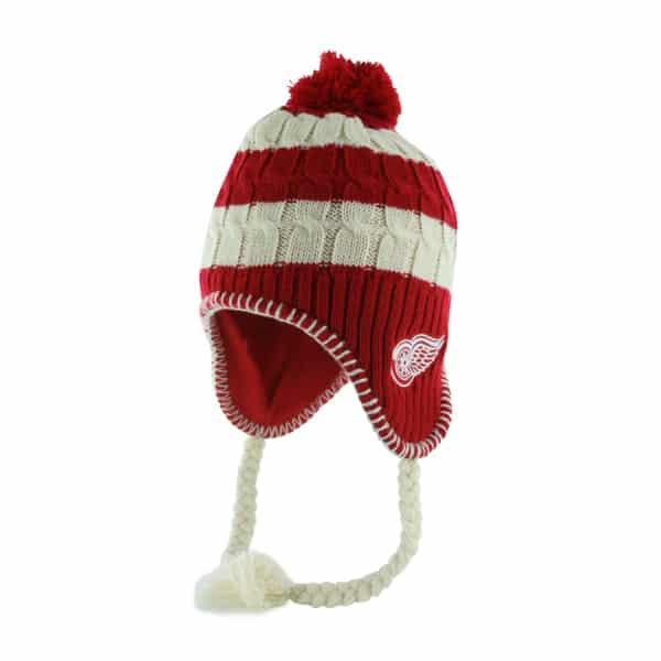 Detroit Red Wings Women's 47 Brand Red Sherpette Knit Hat