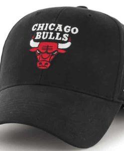 Chicago Bulls TODDLER 47 Brand Black MVP Adjustable Hat