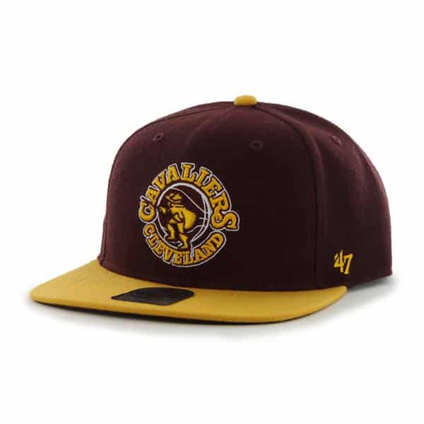 Cleveland Cavaliers The Shaft Two Tone Dark Maroon 47 Brand Adjustable Hat