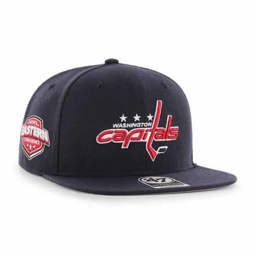 Washington Capitals 47 Brand Navy Sure Shot Snapback Hat