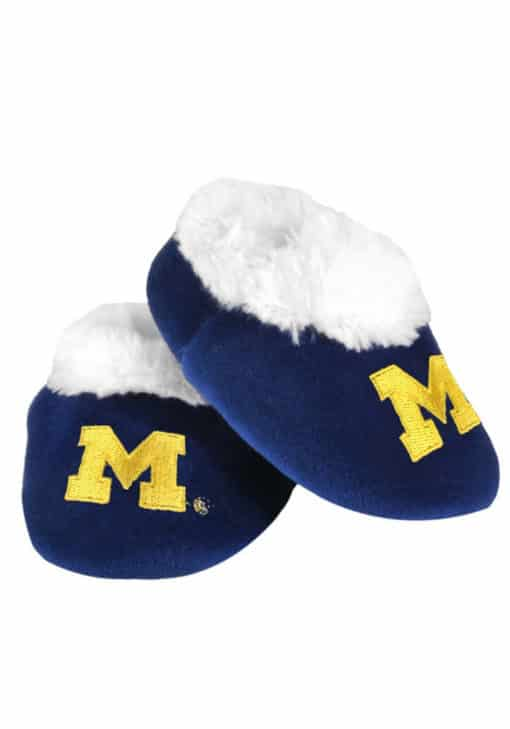 Michigan Wolverines Baby Bootie Slippers