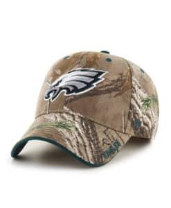 Philadelphia Eagles 47 Brand Realtree Camo Frost Adjustable Hat