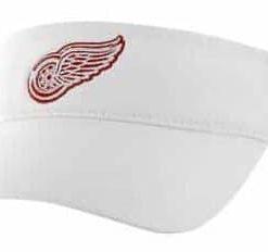 Detroit Red Wings Clean Up White Visor 47 Brand Adjustable Hat