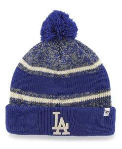Los Angeles Dodgers 47 Brand Blue Fairfax Cuff Knit Hat