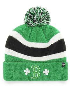 Boston Red Sox 47 Brand St Patty's Day Kelly Green Breakaway Cuff Knit Hat
