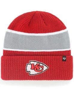 Kansas City Chiefs 47 Brand Baniff Red Cuff Knit Hat