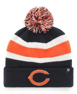 Chicago Bears 47 Brand Navy Breakaway Cuff Knit Hat