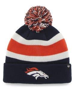 Denver Broncos 47 Brand Light Navy Breakaway Cuff Knit Hat