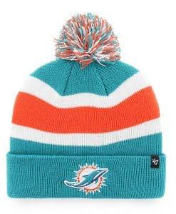 Miami Dolphins 47 Brand Neptune Breakaway Cuff Knit Hat