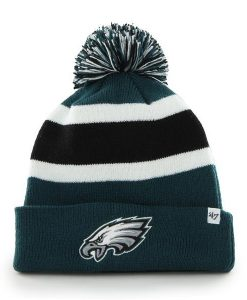 Philadelphia Eagles 47 Brand Pacific Green Breakaway Cuff Knit Hat