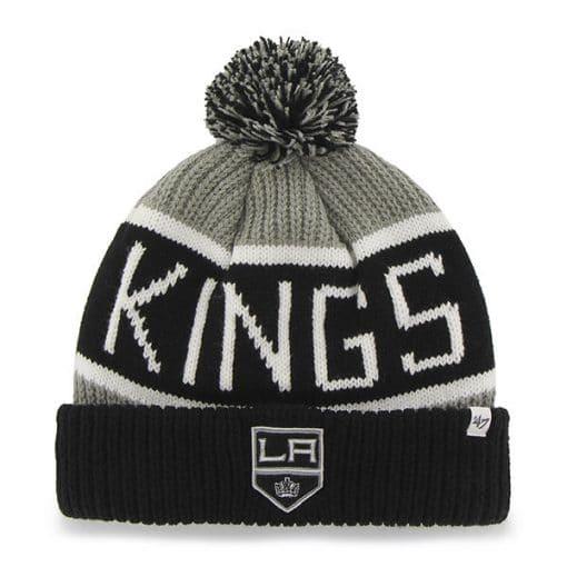 Los Angeles Kings 47 Brand Gray Calgary Cuff Knit Hat