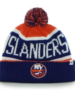 New York Islanders Calgary Cuff Knit Orange 47 Brand Hat