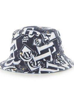 Tampa Bay Rays Bravado Bucket White 47 Brand Hat
